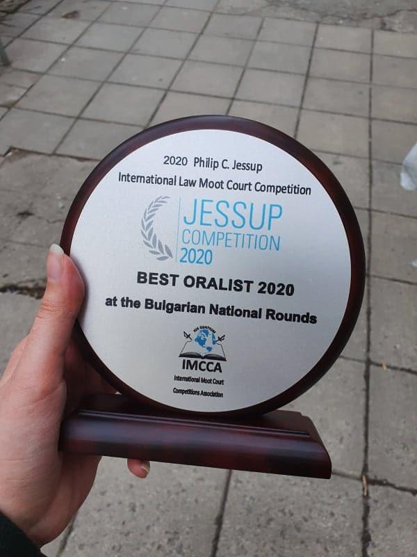 best oralist 2020 Jessup