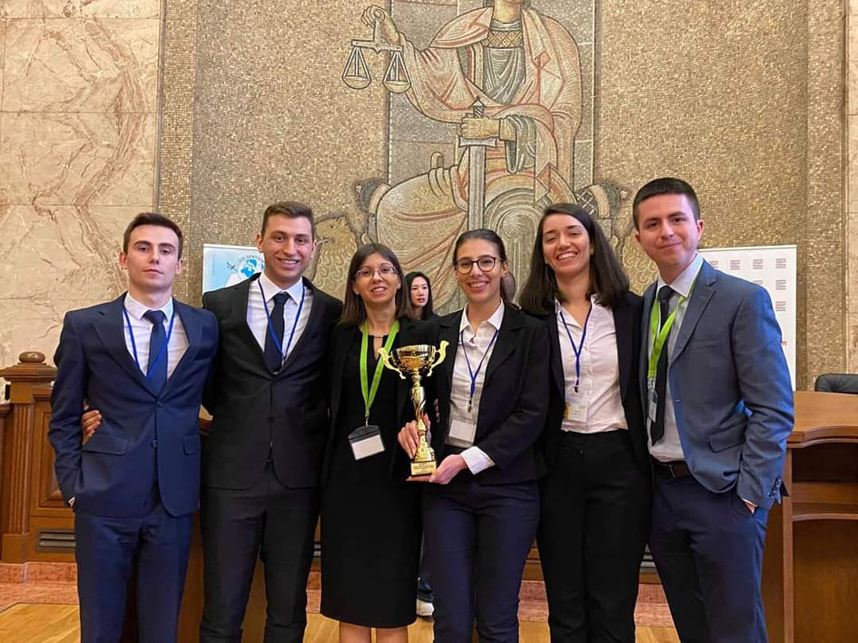 Jessup 2020 Bulgaria Team Winner