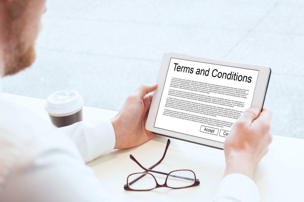 Общите условия и политика за поверителност на онлайн магазин
